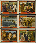 """Movie Posters:Western, Northwest Passage (MGM, 1940). Lobby Cards (6) (11"""" X 14""""). Adventure. Starring Spencer Tracy, Robert Young, Walter Brennan,... (Total: 6 Item)"""