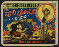 """The Red Dance (Fox, 1928). Title Lobby Card (11"""" X 14""""). Romance. Starring Dolores del Rio, Charles Farrell, I..."""