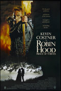 "Movie Posters:Adventure, Robin Hood: Prince of Thieves (Warner Brothers, 1991). One Sheet(27"" X 40"") Double Sided. Adventure. Starring Kevin Costner..."