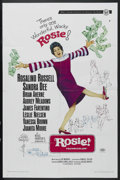 "Movie Posters:Comedy, Rosie! (Universal, 1967). One Sheet (27"" X 41""). Comedy/Drama. Starring Rosalind Russell, Sandra Dee, Brian Aherne, Audrey M..."
