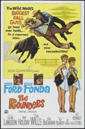 """Movie Posters:Comedy, The Rounders (MGM, 1965). One Sheet (27"""" X 41""""). Western Comedy. Starring Glenn Ford, Henry Fonda, Sue Ane Langdon, Hope Hol..."""