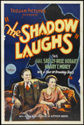"Movie Posters:Mystery, The Shadow Laughs (Trojan Pictures, 1933). One Sheet (27"" X 41""). Mystery. Starring Hal Skelly, Rose Hobart, Harry T. Morey ..."