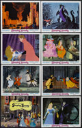 "Movie Posters:Animated, Sleeping Beauty (Buena Vista, R-1970). Lobby Card Set of 8 (11"" X14""). Animated Fantasy. Starring the voices of Mary Costa,...(Total: 8 Item)"