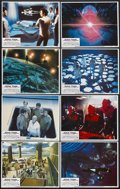 """Movie Posters:Science Fiction, Star Trek: The Motion Picture (Paramount, 1979). Lobby Card Set of8 (11"""" X 14""""). Science Fiction. Starring William Shatner,...(Total: 8 Item)"""