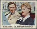 """Movie Posters:Drama, The Weak and the Wicked (Allied Artists, 1954). British Lobby Card (11"""" X 14""""). Drama. Starring Glynis Johns, John Gregson, ..."""