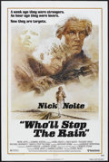 """Movie Posters:Action, Who'll Stop the Rain (United Artists, 1978). One Sheet (27"""" X 41""""). Action/Thriller. Starring Nick Nolte, Tuesday Weld, Mich..."""