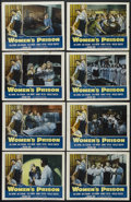 "Movie Posters:Crime, Women's Prison (Columbia, 1955). Lobby Card Set of 8 (11"" X 14""). Crime Drama. Starring Ida Lupino, Jan Sterling, Cleo Moore... (Total: 8 Item)"