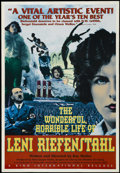 "Movie Posters:Documentary, The Wonderful, Horrible Life of Leni Riefenstahl (KinoInternational Corp., 1993). One Sheet (27"" X 41""). Documentary.Starr..."