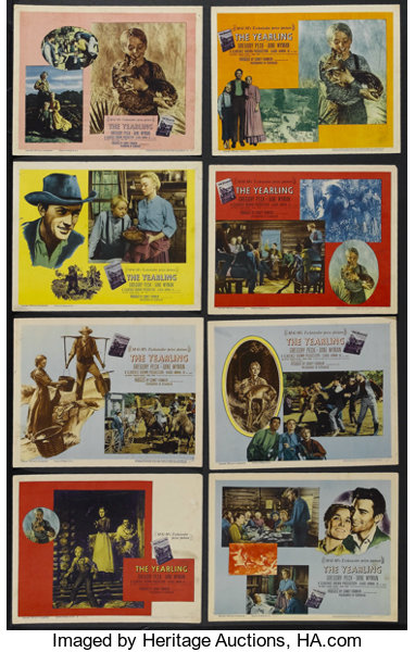 The Yearling (MGM, 1946)  Lobby Card Set of 8 (11