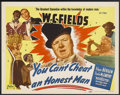 """Movie Posters:Comedy, You Can't Cheat an Honest Man (Realart, R-1949). Title Lobby Card (11"""" X 14""""). Comedy. Starring W.C. Fields, Edgar Bergen, C..."""
