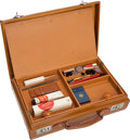 Movie/TV Memorabilia:Memorabilia, A Greta Garbo Personally Owned Make-Up Case, Circa 1950s. ...