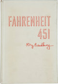 Books:Science Fiction & Fantasy, Ray Bradbury. Fahrenheit 451. New York: Ballantine Books,1953. First edition, one of 200 copies, of which thi...