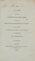 Books:Business & Economics, [Thomas Robert Malthus]. An Essay on the Principle ofPopulation, as it Affects the Future Improvement of Society....
