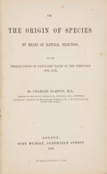 Books:Science & Technology, Charles Darwin. On the Origin of Species by Means of NaturalSelection, or The Preservation of Favored Races in the Stru...