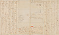 Miscellaneous:Ephemera, [Mormons] and [Nauvoo]. Autograph Letter Signed....