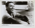 Music Memorabilia:Autographs and Signed Items, Marvin Gaye Autographed Tamla Photo....