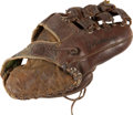 Baseball Collectibles:Others, Joe DiMaggio Signed Store Model Glove....