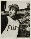 Autographs:Photos, Circa 1960 Roberto Clemente Signed Photograph, PSA/DNA Mint 9....