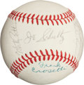 Autographs:Baseballs, 1969 Seattle Pilots Team Signed Baseball....