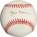 Autographs:Baseballs, Early 1990's Bill Clinton Single Signed Baseball....