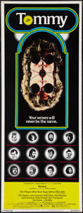 "Movie Posters:Rock and Roll, Tommy (Columbia, 1975). Insert (14"" X 36""). Rock and Roll.. ..."