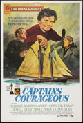"Movie Posters:Adventure, Captains Courageous (MGM, R-1973). Poster (40"" X 60""). Adventure....."