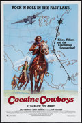 "Movie Posters:Crime, Cocaine Cowboys (International Harmony, 1979). One Sheet (27"" X41""). Crime.. ..."