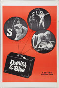 "Movie Posters:Sexploitation, Danish & Blue (Sack Amusement Enterprises, 1970). One Sheet(28"" X 42""). Sexploitation.. ..."
