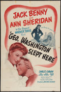 "Movie Posters:Comedy, George Washington Slept Here (Warner Brothers, 1942). One Sheet (27"" X 41""). Comedy.. ..."