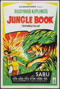 "Movie Posters:Adventure, Jungle Book (London Films, R-1950s). British One Sheet (27"" X 40"").Adventure.. ..."