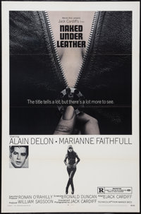 """The Girl on a Motorcycle (Warner Brothers, R-1970). One Sheet (27"""" X 41"""") Reissue Title: Naked Under Leather..."""