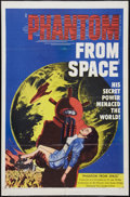 "Movie Posters:Science Fiction, Phantom from Space (United Artists, 1953). One Sheet (27"" X 41"").Science Fiction.. ..."
