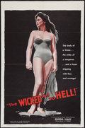 "Movie Posters:Exploitation, The Wicked Go to Hell (Fanfare, 1960). One Sheet (27"" X 41"").Exploitation.. ..."