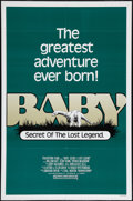 "Movie Posters:Adventure, Baby: Secret of the Lost Legend (Buena Vista, 1985). One Sheet (27""X 41""). Adventure.. ..."