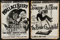 "Movie Posters:Comedy, Alias a Gentleman and Other Lot (MGM, 1948). Untcut Pressbooks (2) (Multiple Pages,11"" X 15""). Comedy.. ... (Total: 2 Items)"