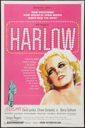 "Movie Posters:Drama, Harlow (Magna, 1965). One Sheet (27"" X 41""). Drama.. ..."