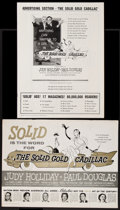 "Movie Posters:Comedy, The Solid Gold Cadillac (Columbia, 1956). Uncut Pressbook (Multiple Pages, 12"" X 16""). Comedy.. ..."