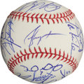 Autographs:Baseballs, 2011 Texas Rangers Team Signed Baseball....