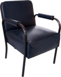 Baseball Collectibles:Others, 1950's Ebbets Field Brooklyn Dodgers Clubhouse Chair....