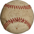 Autographs:Baseballs, 1946 Brooklyn Dodgers Team Signed Baseball....