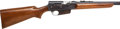 Long Guns:Semiautomatic, .35 Remington Model 81 Semiautomatic Rifle....