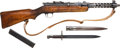 Other Hand Weapons, Dummy Austrian Steyr Model 34 Solothurm Submachine Gun with Bayonet....