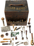 Arms Accessories:Tools, Antique Shooting Accessory Box and Assorted Antique ShotgunAccessories.... (Total: 23 Items)