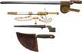 Edged Weapons:Bayonets, Lot of 4 Edged Weapons.... (Total: 4 )
