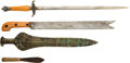Paintings, Lot of Eight Assorted Edged Weapons.... (Total: 8 Items)