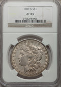 Morgan Dollars: , 1888-S $1 XF45 NGC. NGC Census: (57/3397). PCGS Population(137/5790). Mintage: 657,000. Numismedia Wsl. Price for problem ...