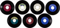 Music Memorabilia:Recordings, 1950s/1960s R&B Vocal Groups - Group of 7 (1951-57).... (Total:7 Items)