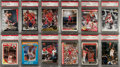 Basketball Cards:Lots, 1980's-1990's Michael Jordan PSA Gem MT 10 Collection (25). ...