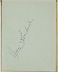 Football Collectibles:Others, 1967 Green Bay Packers Team Signed Autograph Book (21 Signatures) - Super Bowl II Season!...