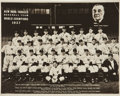 Autographs:Others, 1937 New York Yankees Team Signed Photograph....